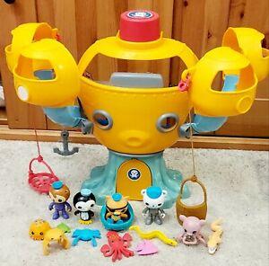 Octonauts Bundle Octopod Working Octoalert, Escape Gup, Creatures & Figures