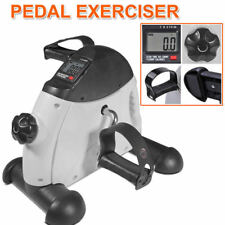 Pedal Exerciser Mini Gym Bike Fitness Cycle Leg/Arm w/ LCD Display Portable AU