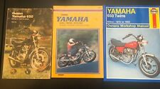 Clymer And Haynes And Chilton Yamaha Xs650 Manuals - All Three!