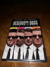Reservoir Dogs (Dvd, 2003, Anniversary Special Edition- 2 Disc Set) New! Sealed!