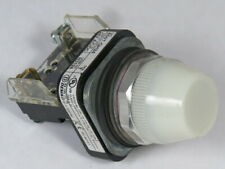 Allen Bradley 800T-QH24W Ser T Universal LED Pilot Light 24V White Lens ! WOW !