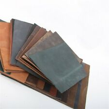 Cowhide Hide and Leather Craft DIY Skins Layer Restore Manual Pieces 21x15CM