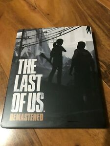 The Last of Us Remastered Custom-Made Steelbook Case PS4 (NO GAME)