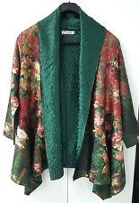 KeKe Multi Color Kimono Floral Asian Flair Lightweight Jacket Blazer Cover