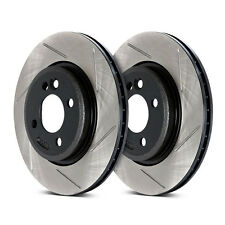STOPTECH FRONT SLOTTED BRAKE ROTORS FOR NISSAN 370Z INFINITI G37 SPORT G37S
