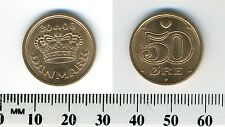 Denmark 2006 - 50 Ore Bronze Coin - Large crown