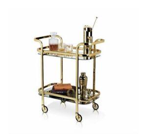 Belmont gold Bar Cart