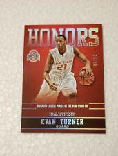 2015 Panini Ohio State Honors Silver #17 Evan Turner SN 99/99