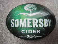 Somersby Cider Plastic Oval Fish Eye T Bar Pump Badge (L9P)