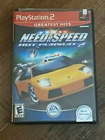 Playstation 2 PS2 Need for Speed Hot Pursuit 2 Greatest Hits CIB Complete