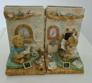 Teddy Bear Book Ends Stops Reading Teddies Detailed Heavy Fast Dispatch - Cute