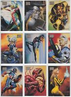 1996 Marvel Masterpieces Base Card You Pick the Card, Finish Your Set