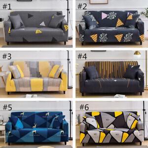 Four Seasons Fashion Elastic Universal Non-slip Fabric Sofa Cover 1/2/3/4Seaters