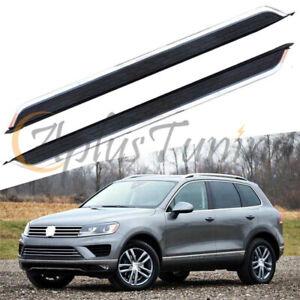 Fit For 2011-2018 VW Touareg New Side Steps Running Board Nerf bar Platform