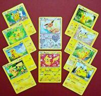 ~🌟PIKACHU MASTERPIECE COLLECTION🌟~ An Original Pokemon Go 11 Card Set + Eevee!