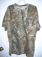 New Mens Camo T-Shirt REALTREE Label, Size XL cotton T7