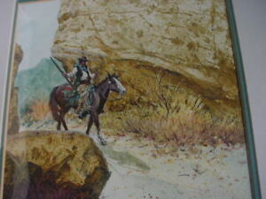 Cowboy painting by Austin Deuell