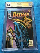 Batman #494 - DC - CGC SS 9.6 NM+ - Signed by Tom Mandrake