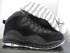 NIKE AIR JORDAN RETRO 10 BLACK-WHITE-STEALTH SZ 11 2012 EDITION! [310805-003]