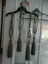 Curtain Tie-Backs with Tassels - Pre-Owned