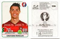 """RARE !! CRISTIANO RONALDO Sticker """"EURO 2016"""" Panini"""