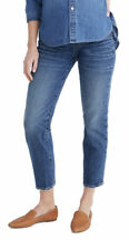 MADEWELL Maternity Side Panel Classic Straight Jeans Size 23 Denim New 0107