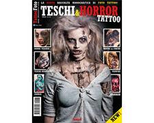 Skulls & Horror Tattoos Reference Book 64-pages Image Color Ink Photo Design Art