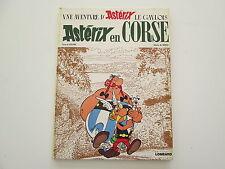 ASTERIX EN CORSE EO1973 BE/TBE EDITION ORIGINALE
