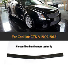 For Cadillac CTS-V Coupe 09-15 Front Bumper Lip Spoiler Factory Carbon Fiber