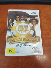 World Series Of Poker Tournament Of Champions 2007 Nintendo Wii Game (27349)