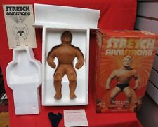 VINTAGE STRETCH ARMSTRONG BY KENNER 1976 WITH BOX /INSERT /PAPERWORK