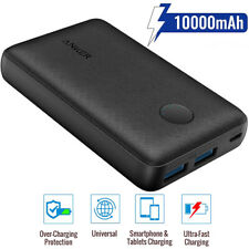 Anker Power Bank FAST CHARGE 10000mAh PORTABLE PHONE CHARGER 12W 2x USB Power IQ