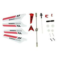 New Full Set Replacement Spare Parts Crash Pack for Syma S107 RC Helicopter Red