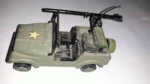 jeep cj7 scala  avec canon  auto porté anti char 1/43 burago