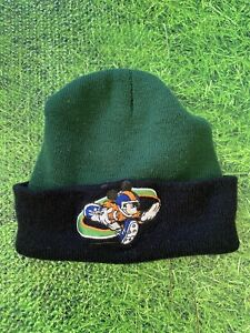 Disney Mickey Mouse Boys Winter Hat Beanie Cap Kids Toddlers Green & Black 3-7T