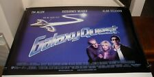 Rolled 2000 Galaxy Quest 30 x 40 Uk 2 Sided Movie Poster Tim Allen Alan Rickman