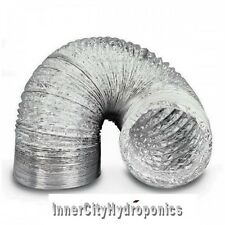 6'/150MM X 6M ALUMINIUM SILVER DUCTING FAN DUCT 6 INCH
