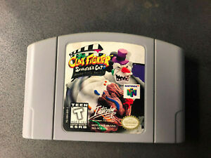 ClayFighter The Sculptor's Cut (Nintendo 64 N64, 1998) Authentic OEM RARE Tested