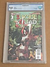 Suicide Squad #1  New 52 CBCS Graded 9.8 NEW MOVIE