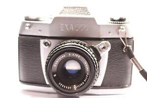 "Vintage Ihagee Exa 500 EXA-500 35mm SLR camera. Also known as ""Exakta 500"""