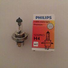 2X Philips H4 Lámpara 12V 60/55W P43t +30% More Light 30% más Luz 12342PRC1