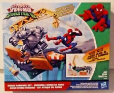 Marvel Ultimate Spider-Man Sinister 6 Rhino Rampage Set w Spider-Man Rhino MISB