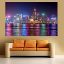 Hong Kong Large Poster Wall Art Print Deco Home - A0 A1 A2 A3 A4
