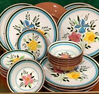 "Excellent Set of 6 Stangl COUNTRY GARDEN Pattern 5 3/4"" Coupe Cereal Bowl (s)"