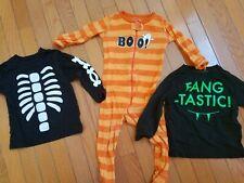 Lot of 3 Halloween Shirts / Sleeper Carter's & Children's Place Size 18-24 Month