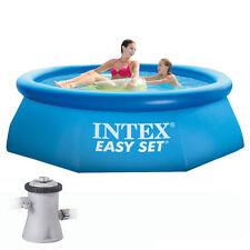 INTEX 28158 piscina fuoriterra  457 X 84 con Pompa Filtro  !!!