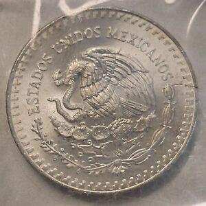 1986 Mexico 1 Onza Libertad  1 oz .999 silver Gem BU !!