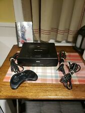 Sega Saturn Console  With Controller and  Wires,one game..tested works..