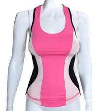 NEW LULULEMON Cardio Kick Tank Top Pink Black Womens size 2 - INV - NWT