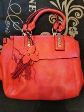 Red Handbag Shoulder Bag